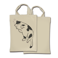 環保提袋(直式-單面)