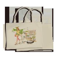 環保提袋(橫式-單面)